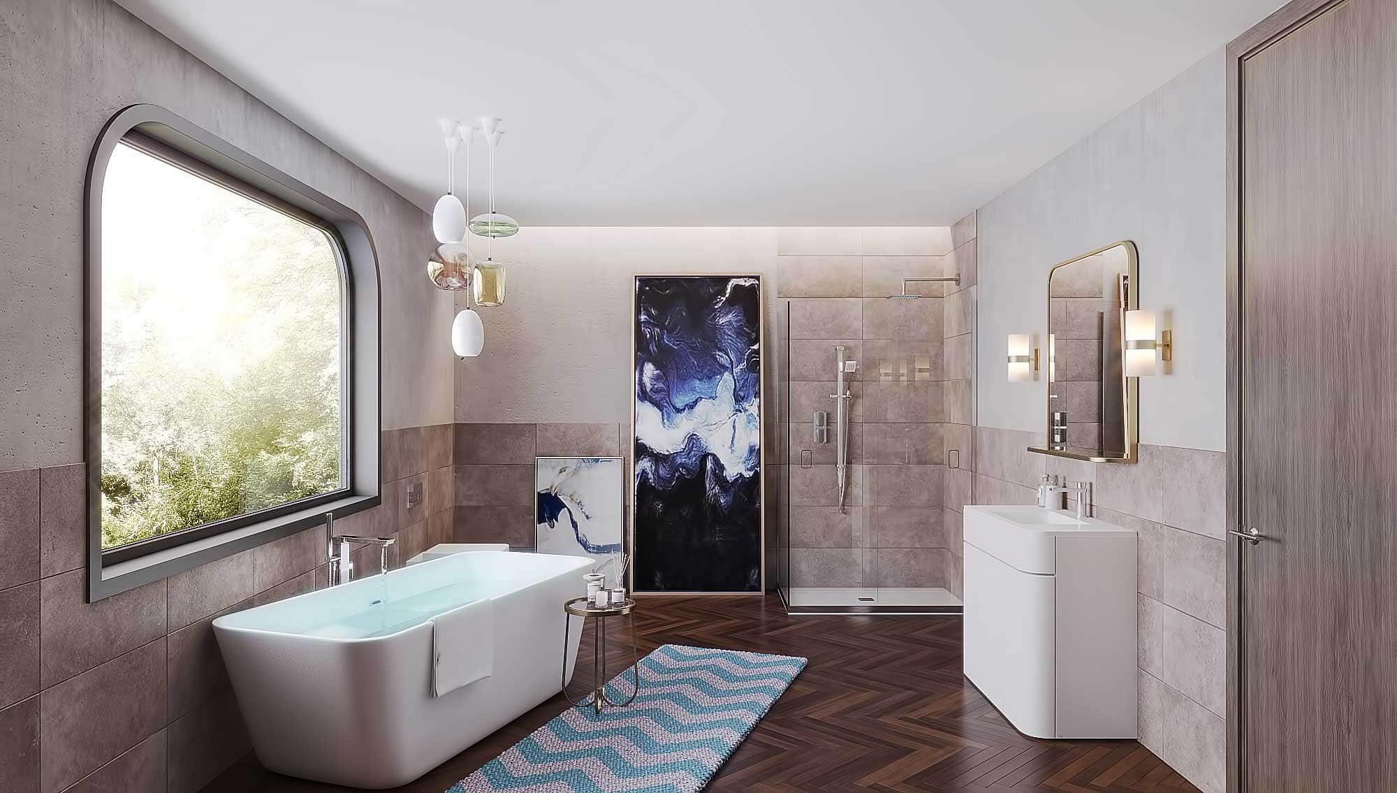 Salacia of London- Beautiful Bathroom Designs