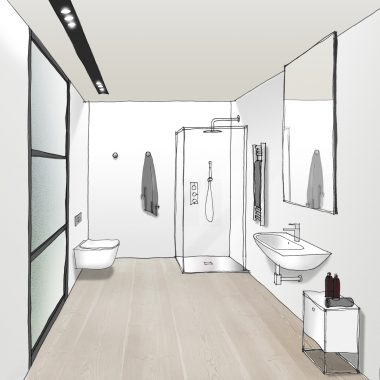 Salacia of London bathroom designs.