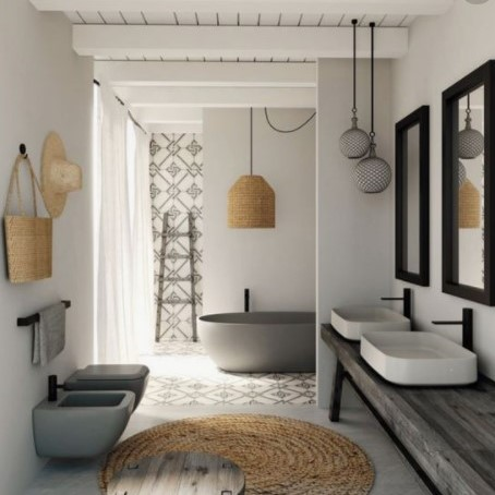 family bathroom design. Salacia of London.