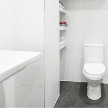 Bathroom renovation, Mare Street, After
